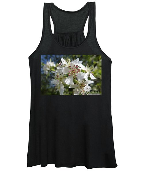 Flowering Of White Flowers 2 Women's Tank Top