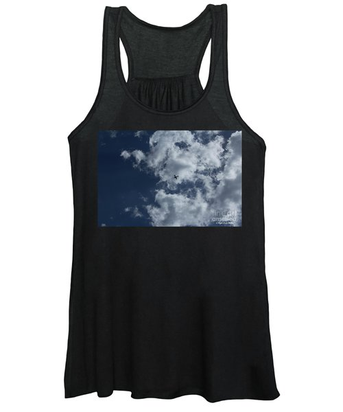 Fly Me To The Moon Women's Tank Top