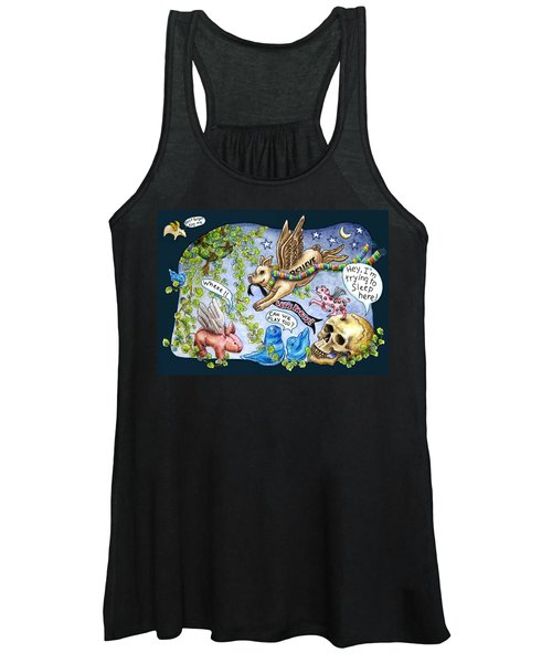 Flying Pig Party Women's Tank Top