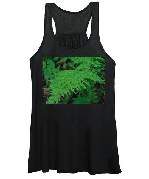 Forest Fern Women's Tank Top