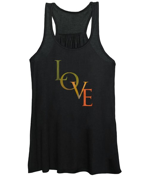 Forest Illusions- Love Women's Tank Top