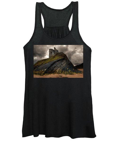 Forgotten Castle In Ballybunion Women's Tank Top