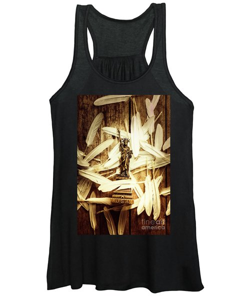 Freedom And Independence Women's Tank Top