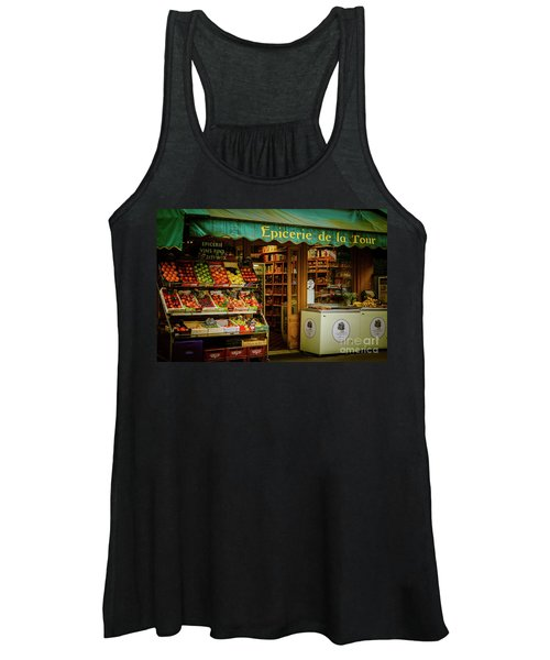 French Groceries Women's Tank Top