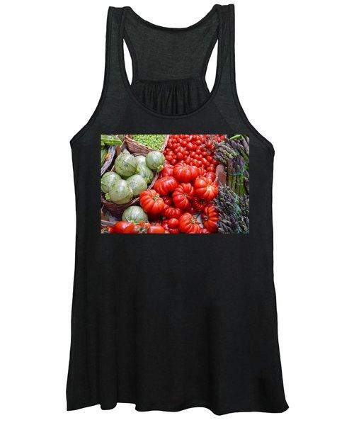Fresh Vegetables Women's Tank Top