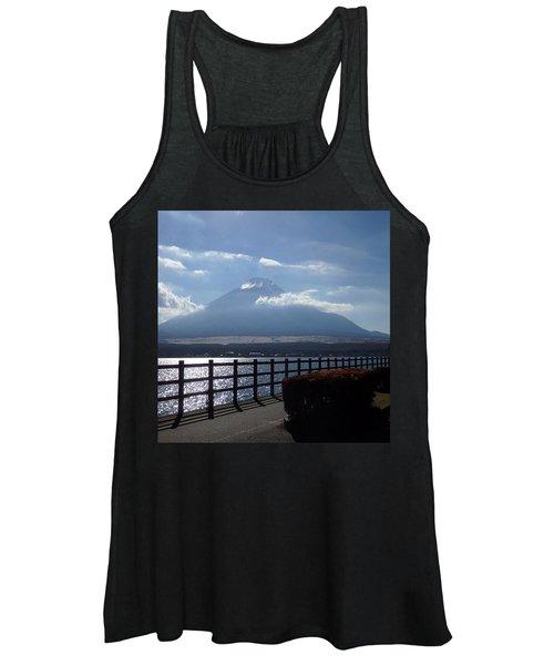 Fuji From Lake Yamanaka Women's Tank Top