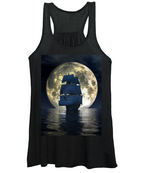 Full Moon Pirates Women's Tank Top