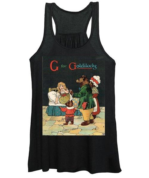 G For Goldilocks Women's Tank Top