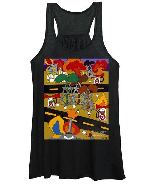 Gas Wars Women's Tank Top