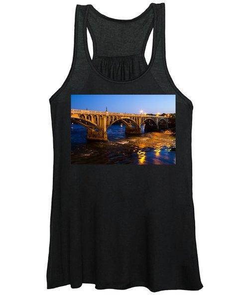 Gervais Street Bridge At Twilight Women's Tank Top