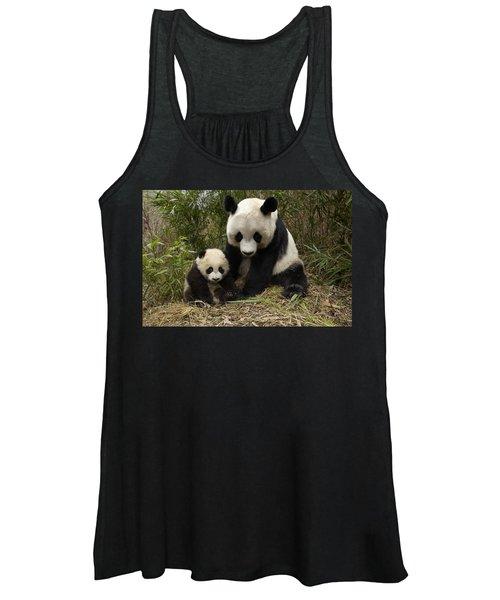 Giant Panda Ailuropoda Melanoleuca Women's Tank Top