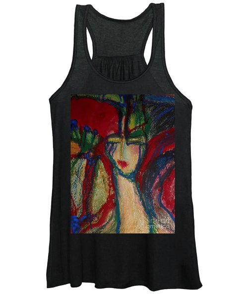 Girl In Darkness Women's Tank Top