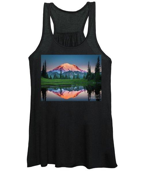 Glowing Peak - August Women's Tank Top