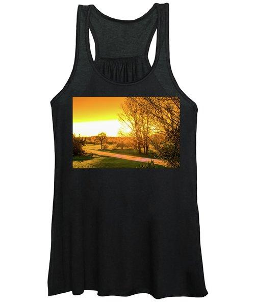 Glowing Sunset Women's Tank Top