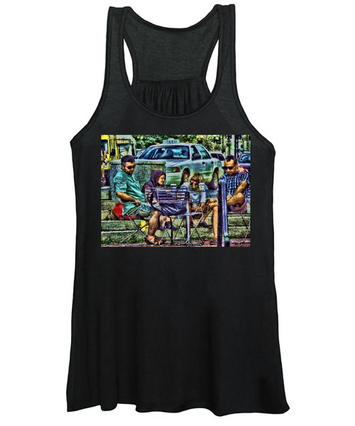 Going Places From Harvard Square Women's Tank Top