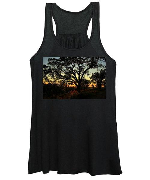 Good Night Tree Women's Tank Top