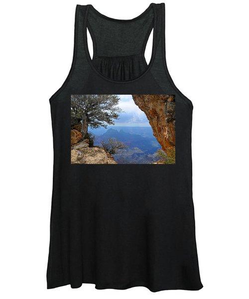 Grand Canyon North Rim Window In The Rock Women's Tank Top