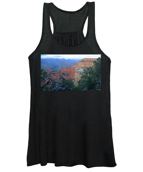 Grand Canyon South Rim - Red Hues At Sunset Women's Tank Top