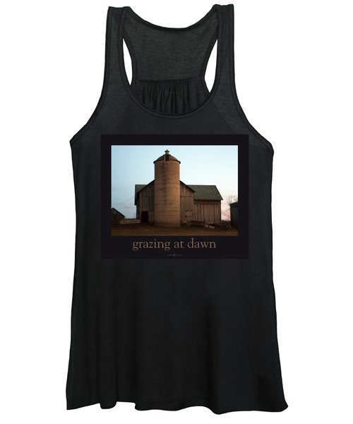 Grazing At Dawn Women's Tank Top