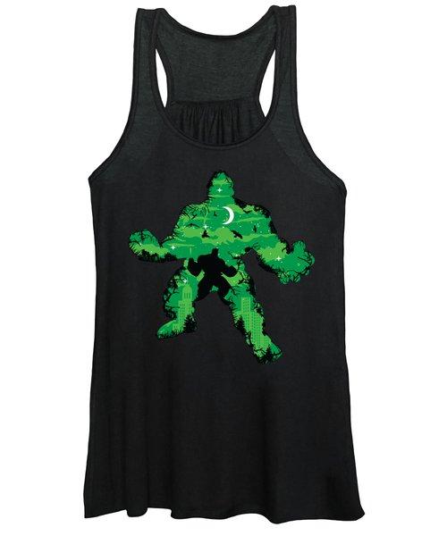 Green Monster Women's Tank Top