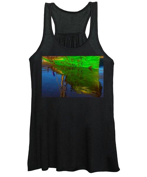 Green Reflection Women's Tank Top