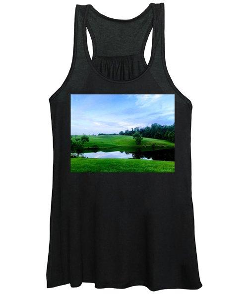 Greener Pastures Women's Tank Top