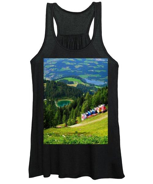 Hahnenkamm - Kitzbuehel Women's Tank Top