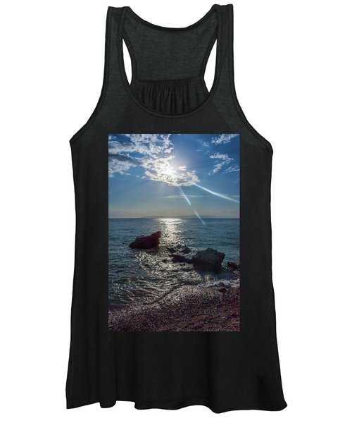 Haitian Beach In The Late Afternoon Women's Tank Top