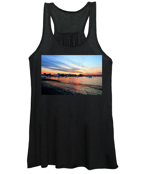 Harbor Sunset At Low Tide Women's Tank Top
