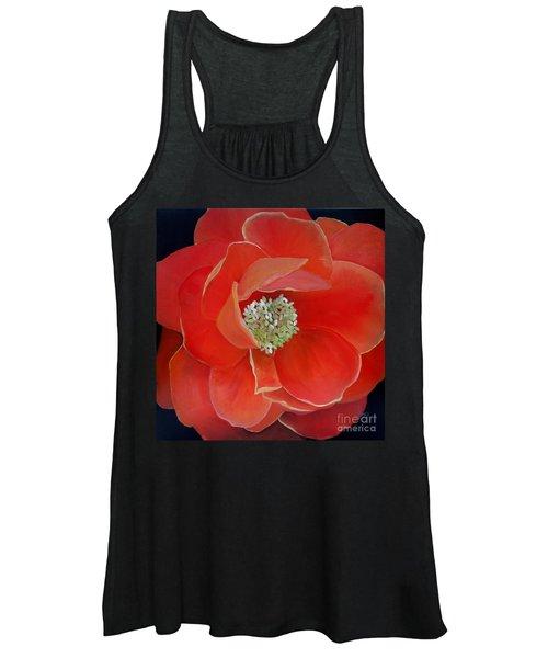 Heart-centered Rose Women's Tank Top