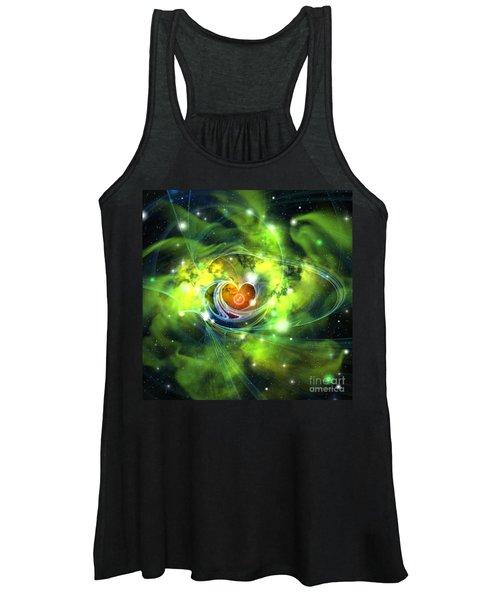Heart Nebula Women's Tank Top