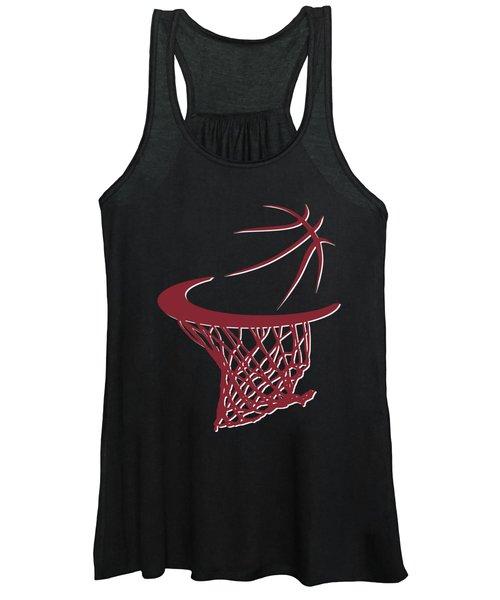 Heat Basketball Hoop Women's Tank Top