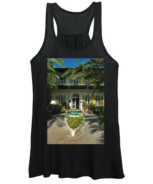 Hemingways House Key West Women's Tank Top