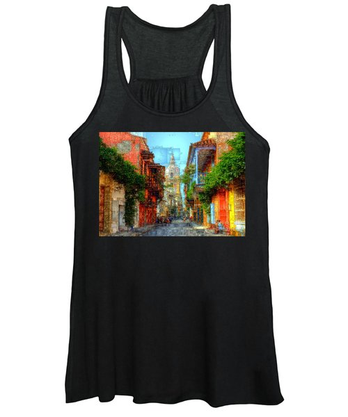 Heroic City, Cartagena De Indias Colombia Women's Tank Top