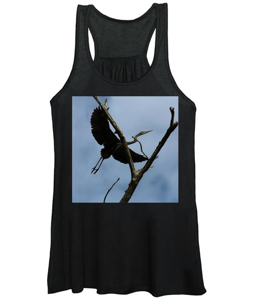 Heron Flight Women's Tank Top