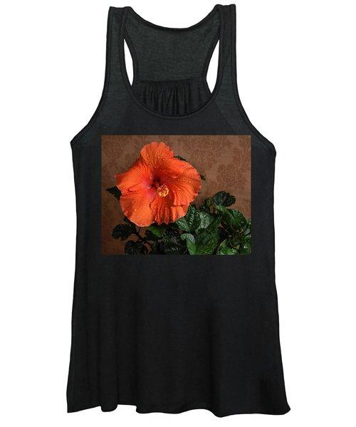 Hibiscus Fine Art Women's Tank Top