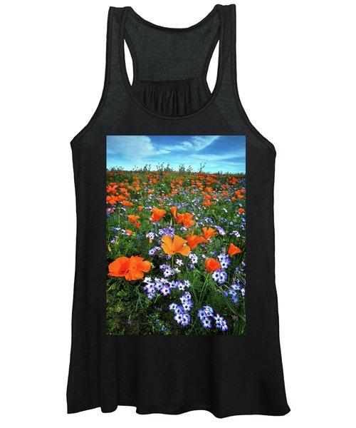 High Desert Wildflowers Women's Tank Top