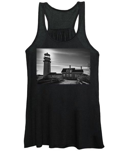 Highland Lighthouse Bw Women's Tank Top