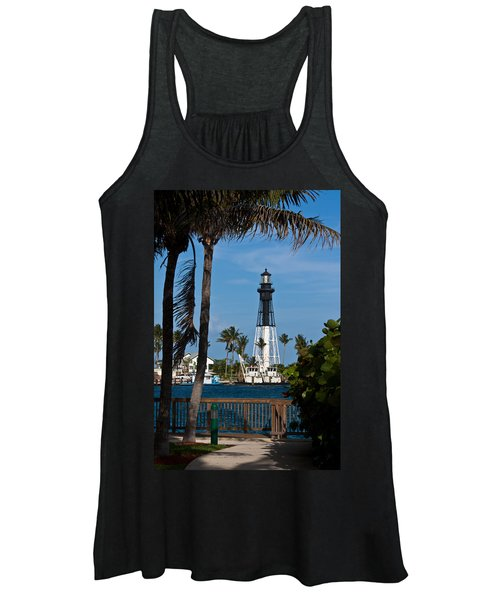 Hillsboro Inlet Lighthouse And Park Women's Tank Top