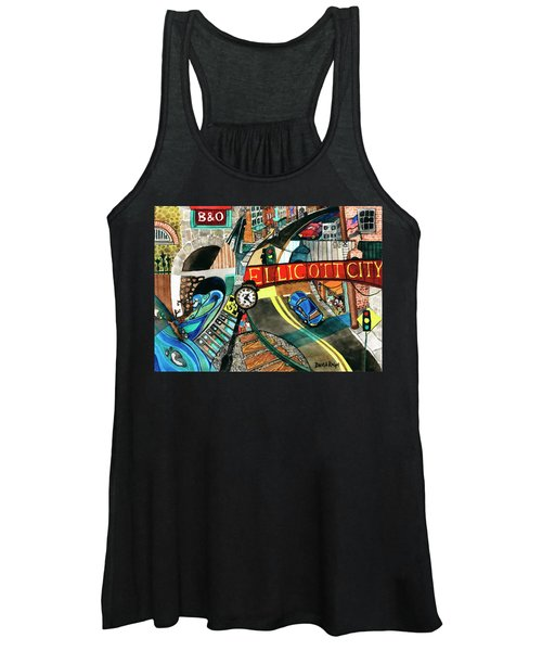 Historic Ellicott City Steam And Stone Women's Tank Top
