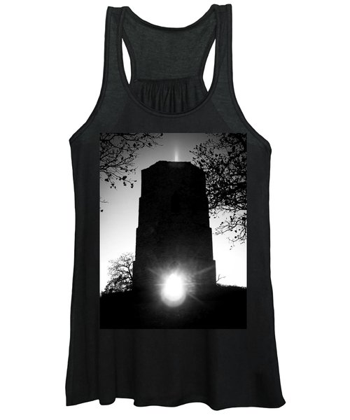 Historical Water Tower At Sunset Women's Tank Top