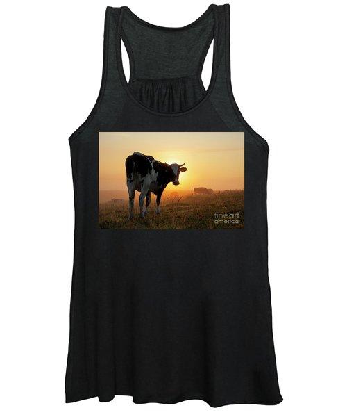 Holstein Friesian Cow Women's Tank Top
