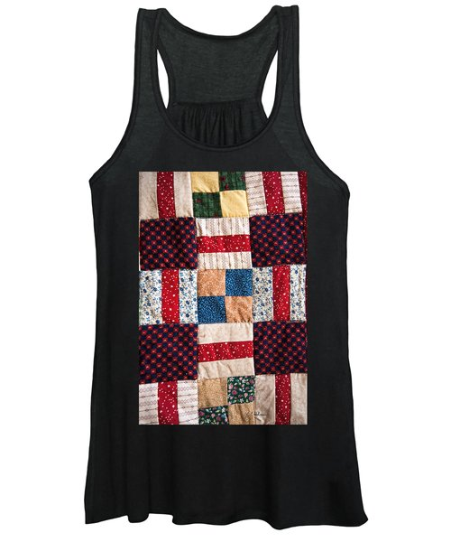Homemade Quilt Women's Tank Top