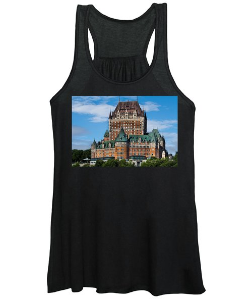 Chateau Frontenac In Quebec City Women's Tank Top