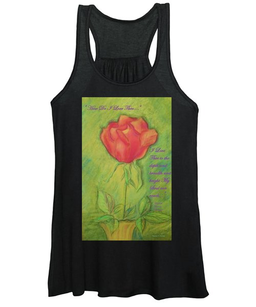 How Do I Love Thee ? Women's Tank Top