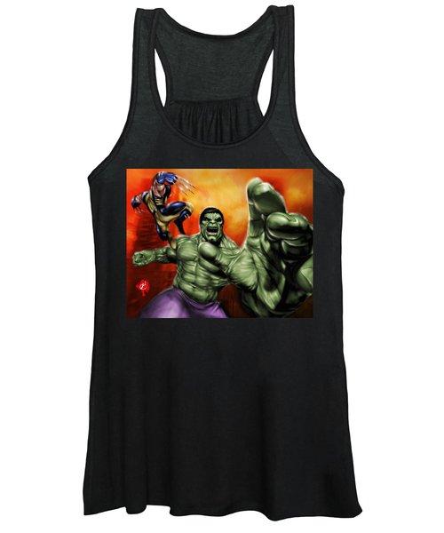 Hulk Women's Tank Top