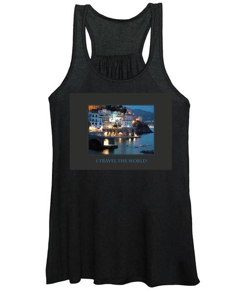 I Travel The World Amalfi Women's Tank Top