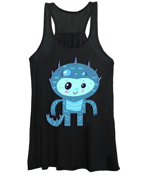 Ice Monster Boy Women's Tank Top