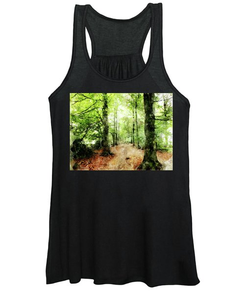 In The Wood Frame Women's Tank Top