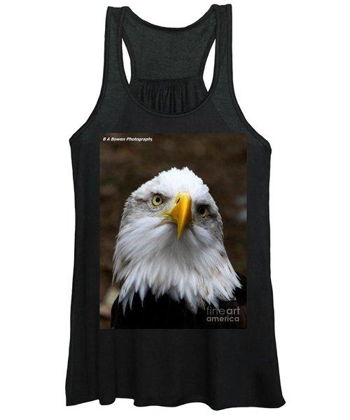 Inquisitive Eagle Women's Tank Top